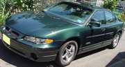 2000 Pontiac Grand Prix GTP with a SuperCharged Motor Only 2093 miles